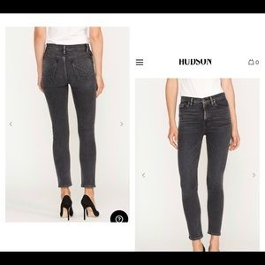 ✨ NWT Hudson Holly High Rise Crop Skinny Jeans